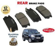 para Hyundai Terracan 2003-2007 NUEVO Pastillas de disco trasero Calidad Sistema