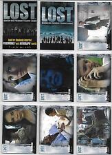 Inkworks Lost Season One 90 Card Set 2005 First Card Set Based on Hit T.V. Show