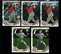2019 Bowman BLAZE ALEXANDER prospect LOT rookie Chrome 1st draft