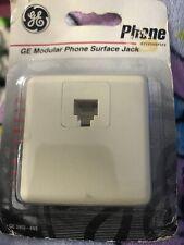 Ge Modular Phone Surface Jack Brand New
