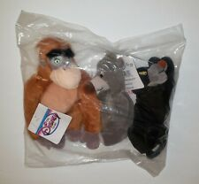 NEW!!  Disney JUNGLE BOOK Mini Bean Bag Plush Set of 3 MWT in Original Package