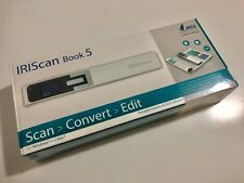 IRIS IRIScan Book 5 Handheld Portable Scanner (White) New/Unboxed
