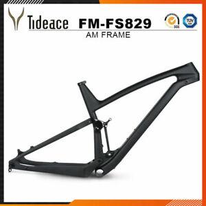 12*148mm All Mountain Full Suspension MTB Bicycle 29ER Bike Frame BB92 China OEM
