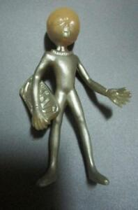 "1998  Rare  SHADOWBOX ROSWELL GREY ALIEN figure 4"" toy loose retired htf"