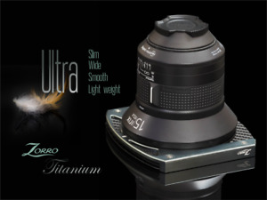 Zorro Titanium : 100mm filter's holder for Ultra wide lens