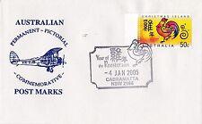 Permanent Commerative Pictorial Postmark - Cabramatta 4 Jan 2005 - 50c