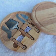 Cheese Board Serving Set Wood Seattle Seahawks Picnic Time Legacy
