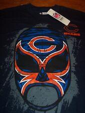 CHICAGO BEARS NFL FOOTBALL FANATIC FAN WRESTLER T-Shirt MEDIUM NEW w/ TAG