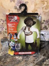 New Rubies Dc Comics Super Villains Scarecrow Child Costume Size Small