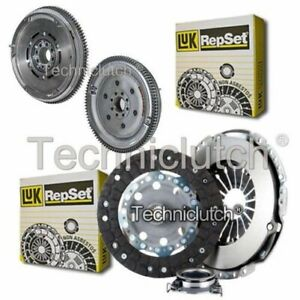 LUK 3 PART CLUTCH KIT AND LUK DMF FOR TOYOTA AVENSIS BERLINA 2.0 D-4D
