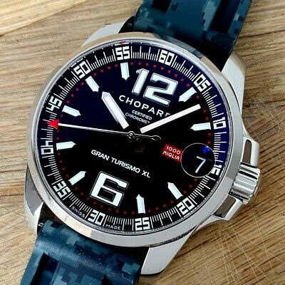 Chopard Mille Miglia GT 43mm Grand Turismo Automatic Black Dial Watch 8997