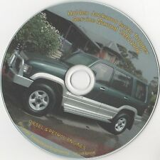 HOLDEN JACKAROO ( ISUZU TROOPER ) WORKSHOP SERVICE REPAIR MANUAL CD