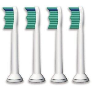 4 TOOTHBRUSH HEADS COMPATIBLE WITH PHILIPS SONICARE HX6013 HX6011 HX6014 HX6530