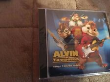 ALVIN AND THE CHIPMUNKS SONGS FROM THE MOVIE CD NEW