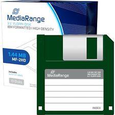 MediaRange Disketten 1,44 MB, schwarz