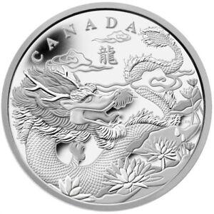 Year of the Dragon - 2012 Canada $250 Fine Silver Kilo Coin