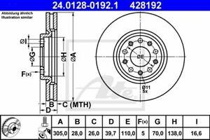 DISCHI FRENO ALFA 159-GIULET ATE COD -24.0128-0192.1 COD. ORIG.51760621-51767381
