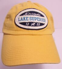 Lake Superior Hat Cap Minnesota USA Embroidered Moose Unisex New