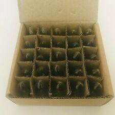 (25 Count Box) Clear Twinkle Blinking C-7 Light Bulbs Christmas 7 Watt 130v