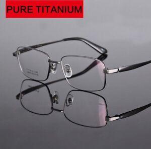 Near Sight Glasses Titanium Frame Short Sighted Lens -1.0-1.5 -2.0 -2.5 to -6.0