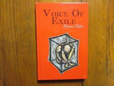 """ESMAIL  KHOI  Signed  Book(""""VOICE  OF  THE  EXILE""""-2002 First  Edition Hardback)"""