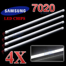 4PCS 50CM 7020 LED STRIP LIGHT BAR 12V AWNING CAMPING CAR UTE 4WD CAMPER BOAT