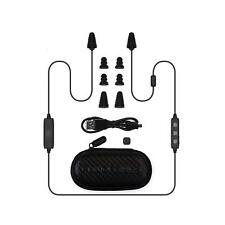 Plugfones Liberate 2.0 Wireless Bluetooth Earplug / Earbud Headphones - Black