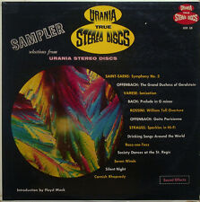 Urania Stereo Sampler Disc (13 tracks: music, sound effects) - USS 58, very rare