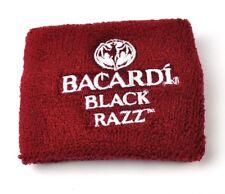 Bacardi Black Razz Rum USA Armband Schweißband rot - wristband