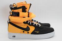 Nike SF AF1 Air Force 1 High 864024-800 Laser Orange Black White Size 9 B Grade