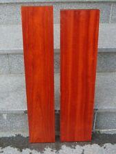 Padouk Bretter 104,3 x 24 x 2,3 cm korallenrotes Holz Tonholz