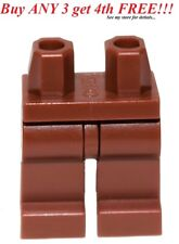 ☀️NEW Lego Legs Pants Plain Reddish Brown Minifig Minifigure bottoms hip leg