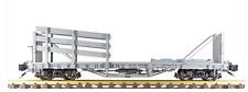 Accucraft / Ams Am31-394 Wheel & Tie Car D&Rgw Box Car Grey #06092 1:20.3 Nib