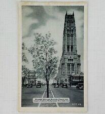 Vintage Unused Postcard - Riverside Drive, New York City