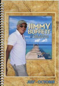 JIMMY BUFFETT - TOUR - ITINERARY - 2018