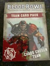 Blood Bowl Team Card Pack Chaos Chosen Team GW SEALED