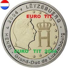 2 €   LUXEMBOURG  COMMEMORATIVE   2004    1   X    PIECE             disponible