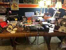 Vintage Camera Equipment, Film, Flash Bulbs, Cases, Lens Filters, Other Equip.