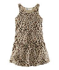 NEW 🔵 H&M Animal Print Dress Age  4-6 6-8 Yrs  BNWT Next Season  100% Cotton
