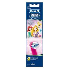 Oral-B Stages Kids Electric Toothbrush Replacement Heads Disney Princess, 2-Pack