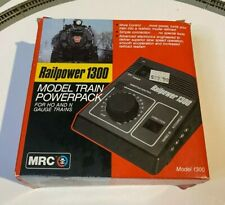 MRC Railpower Model 1300 Model Train Powerpack Transformer N and HO Scale