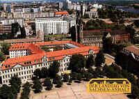 Deutsche Post Freistempler Magdeburg Postkarte Landtag von Sachsen-Anhalt 1997