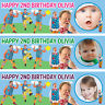 2 x personalized birthday banner party Mr tumble boys girls any name ages