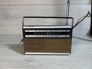 FERGUSON RADIO MODEL 3189B FM MW LW VGWO, VGC WORKING ALL BANDS AC/DC