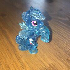 My Little Pony Blind Bag RAINBOW DASH Wave 4 Blue Clear Glitter Mini Cake Topper