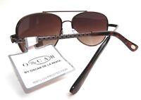 NEW women's OSCAR DE LA RENTA 3041  aviator sunglasses