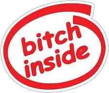 Cock inside sticker