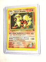 Blaine's Arcanine - 1/132 - Gym Challenge - Holo - Pokemon Card - EXC/NEAR MINT