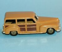 DINKY Meccano UK original 1954 Farm Series PLYMOUTH 'WOODY' WAGON ESTATE CAR 27F