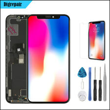  Apple  iPhone X  BLACK OLED LCD Touch Digitizer Display Screen Assembly Part